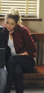 Hanna's jacket and boots