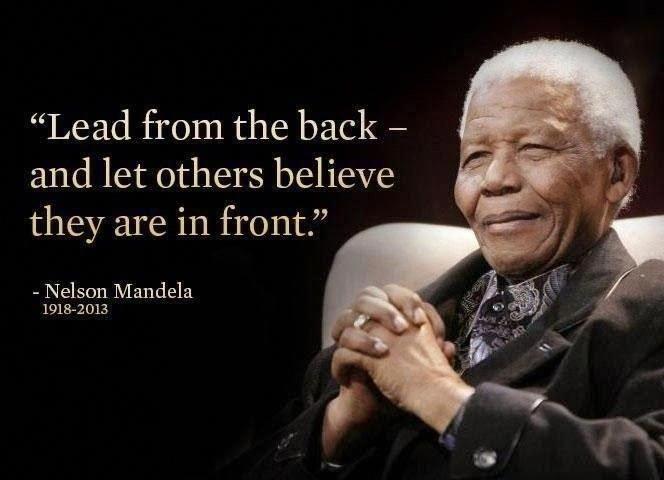 Positive Inspirational Leadership Quotes Nelson mandela