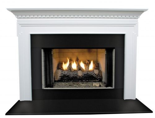 Mt Vernon Mdf Primed White Fireplace Mantel Surround 42 Inch