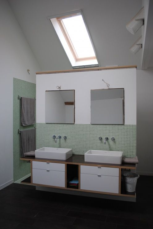 badezimmer Corian, Bath and Attic