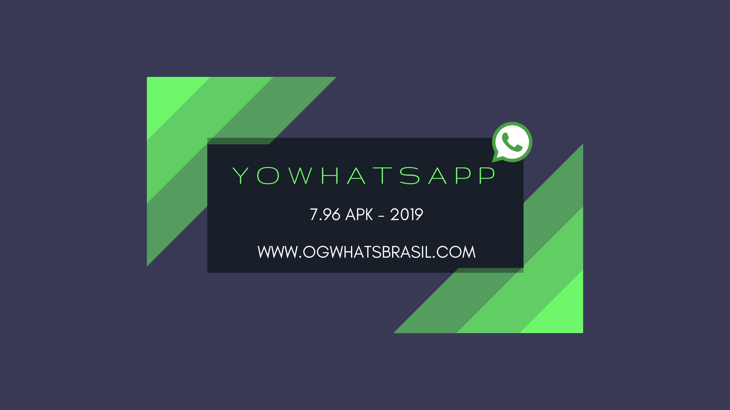 YoWhatsapp 9.10 APK Download Grátis atualizado 2020
