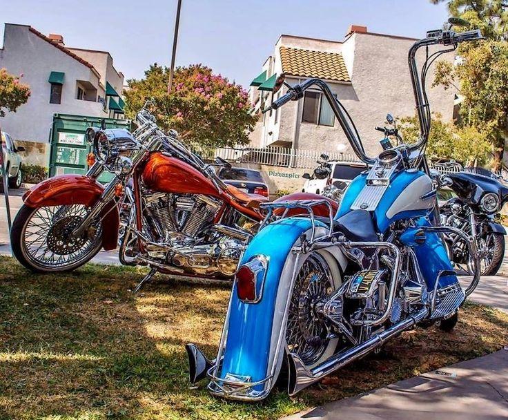 Harley Davidson Softail Heritage Rouge