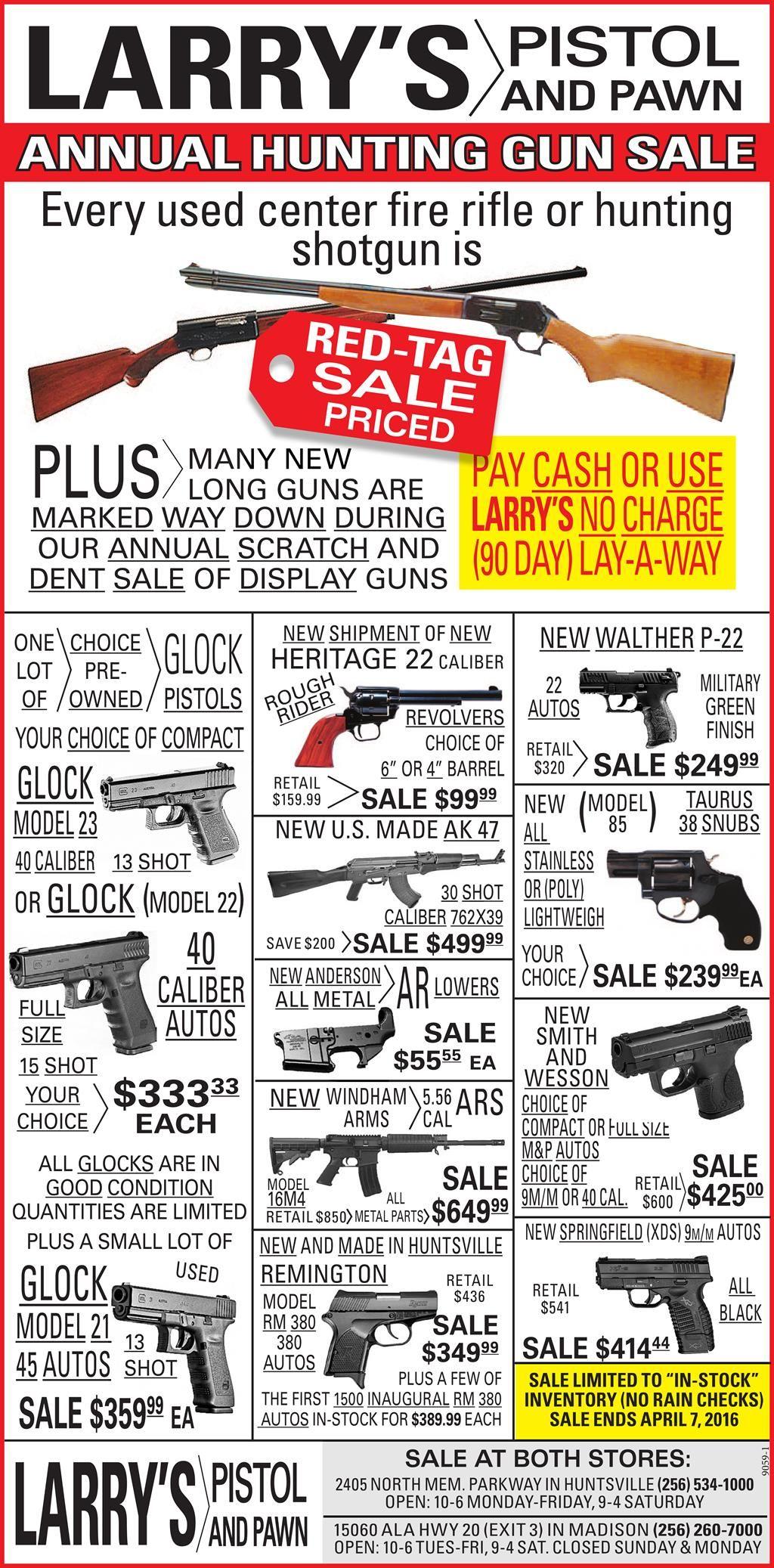 Sales Ad Larrys Pistol And Pawn Firearms Pinterest Guns Additionally Camera Taser Schematics Further Stun Gun Circuit Diagram Musical Instruments Advertising