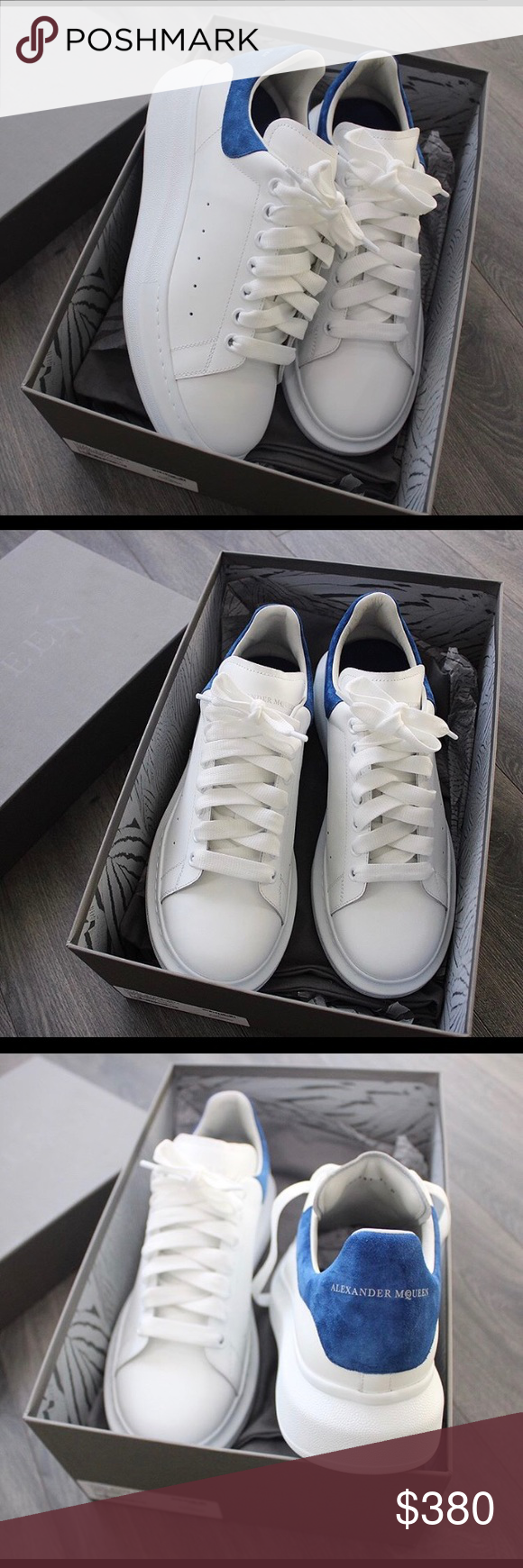 7b33eedc86e ⚪️Alexander McQueen Sneakers⚪ ⚪ ⚪ 100%AUTHENTIC No Fakes Sold