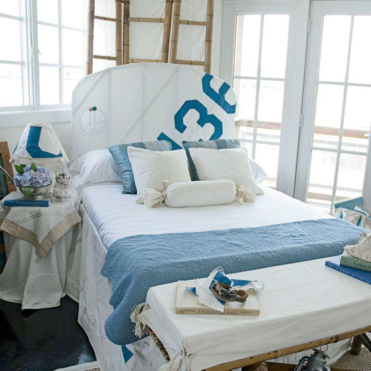 Sailcloth chic 20 genius nautical decorating ideas coastal living