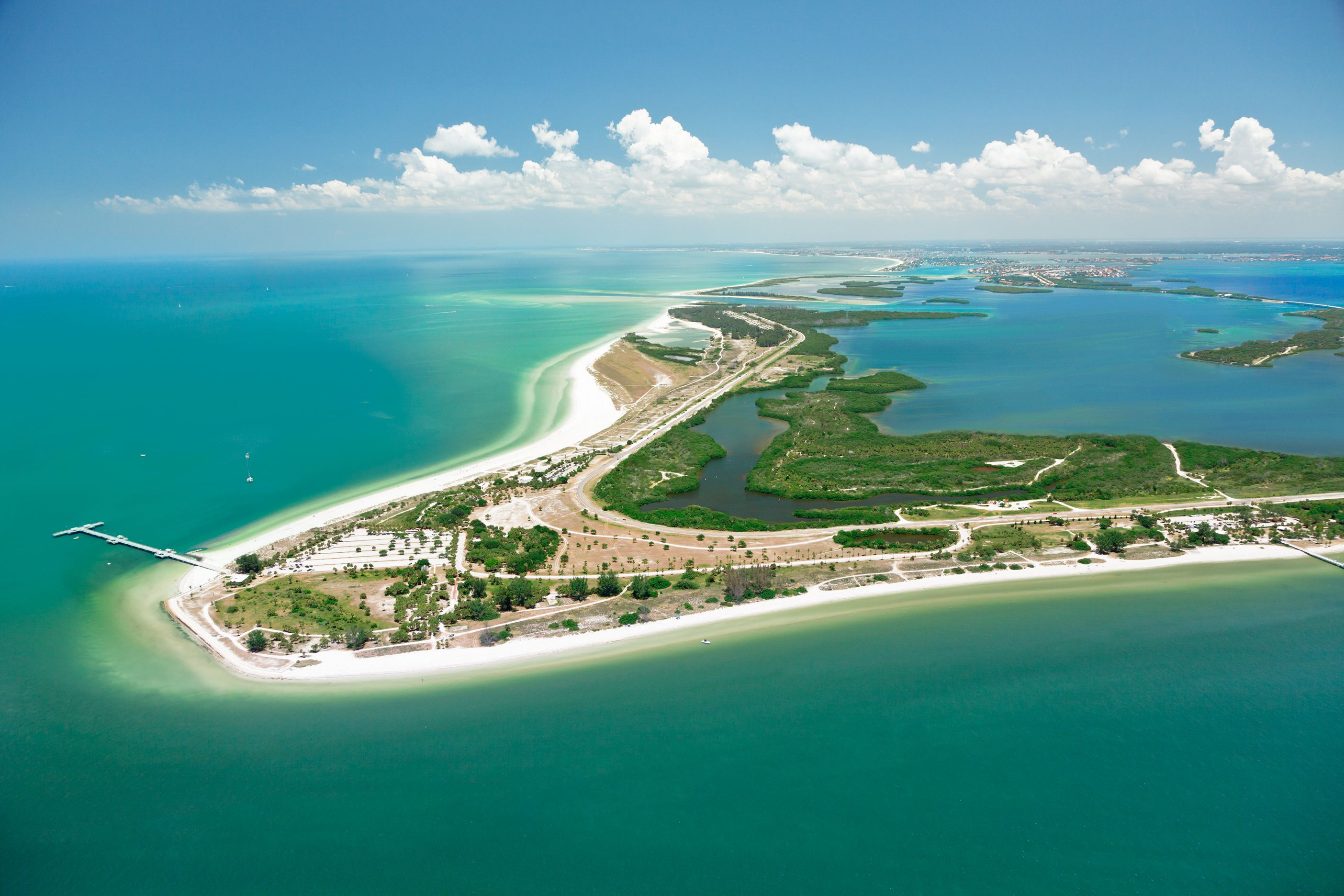 Pin By Visit St Pete Clearwater On From Above St Pete Clearwater Best Beach In Florida Visit Florida Florida Beaches