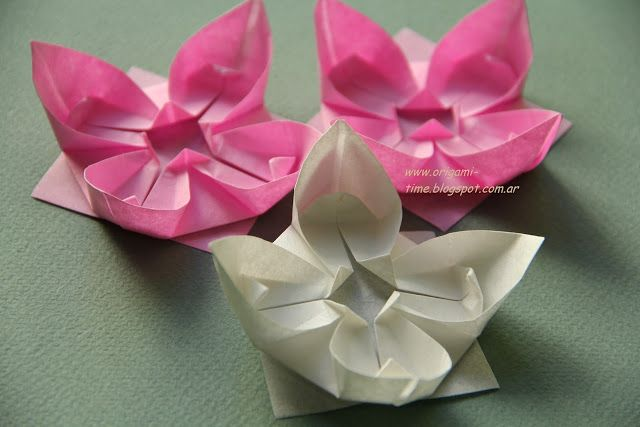 Origami time origami napkin flower all by myself pinterest origami napkin flower mightylinksfo Image collections