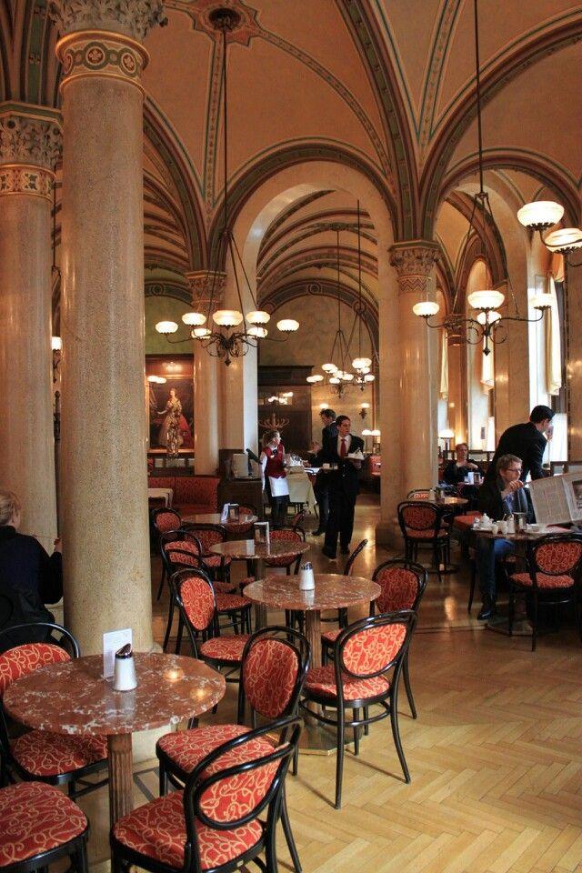 Vienna Cafe Central Cozy Coffee Shop Vienna Cafe Sidewalk Cafe