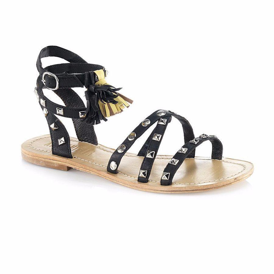 Sparta Black Sandal