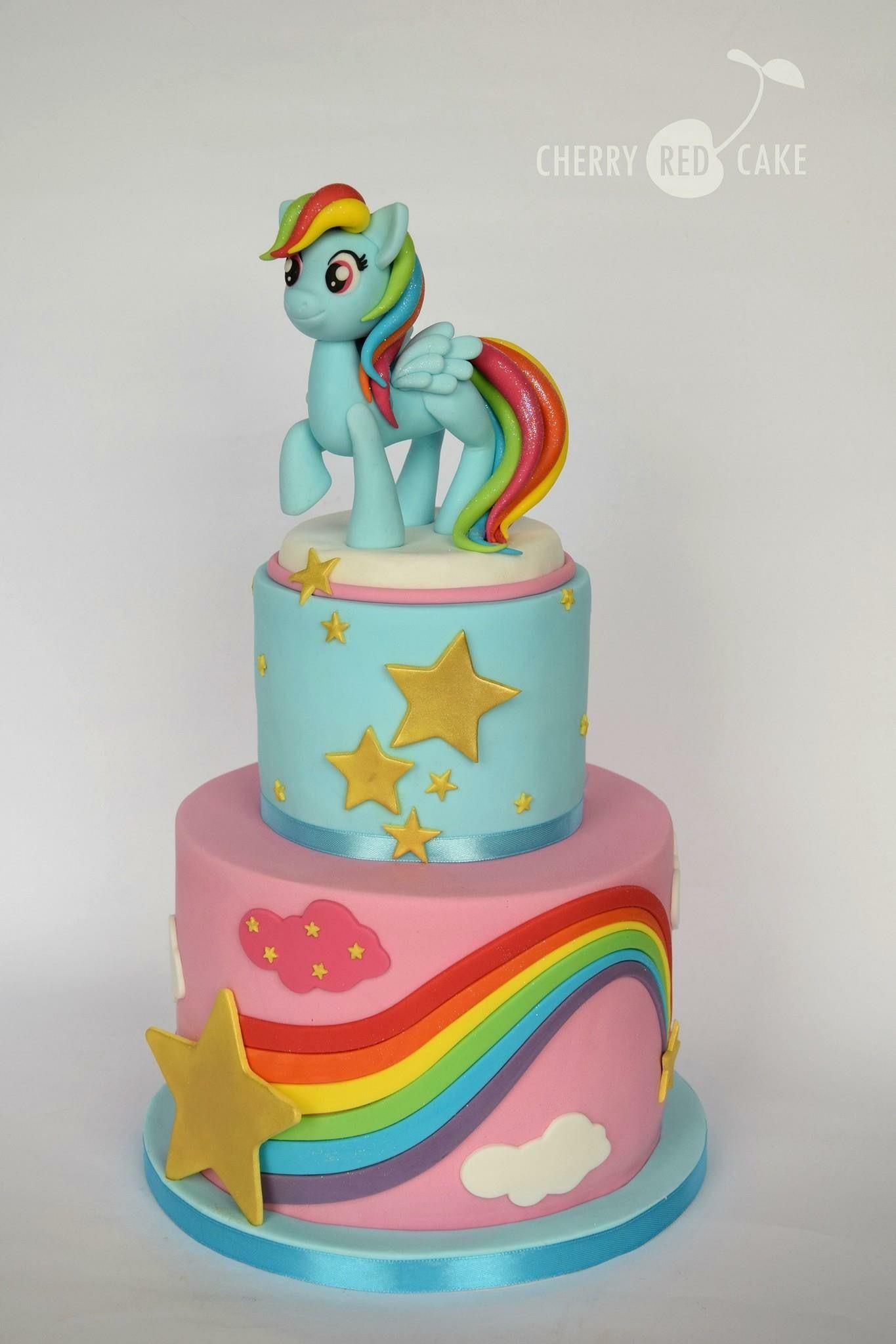 Pleasing Rainbow Dash Cake Rainbow Dash Cake Rainbow Dash Birthday Pony Funny Birthday Cards Online Fluifree Goldxyz