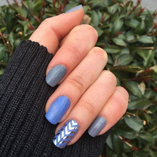Pin by j r jen barten on nail ideas jamberry and others jamberry silver chevron clear nail wrap on top of juke box nail lacquer easy and fast chevron stripes you can do yourself solutioingenieria Choice Image