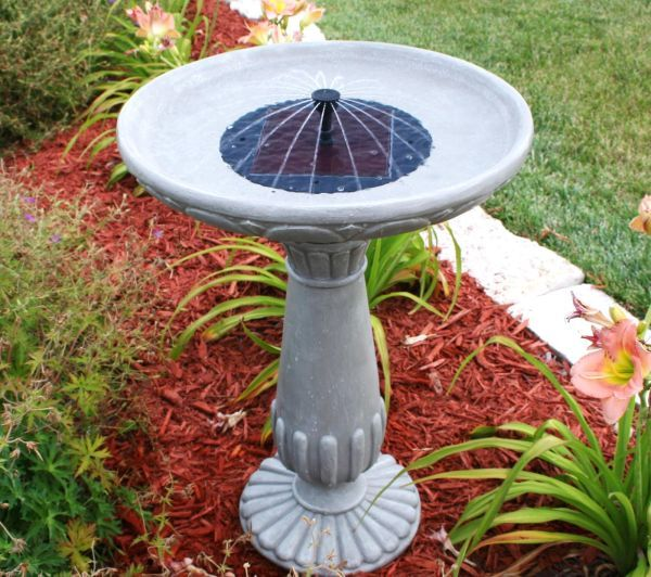 Lovely Solar Energy Does Not Have To Be Big And Bulky As Long As They Are  Functional. Outdoor FountainsGarden ...