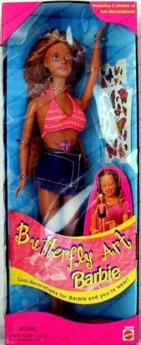 Barbie Butterfly Art Doll (1998) « Game Searches