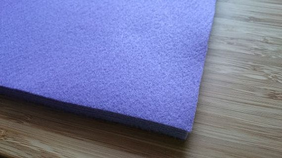 Felt - Bright Lilac - Kunin Eco Rainbow Classic Felt Made from Recycled Plastic Bottles Eco-Fi Eco Friendly Recycled Polyester by LoveBagMaking Find it now at http://ift.tt/2dYN9eN!