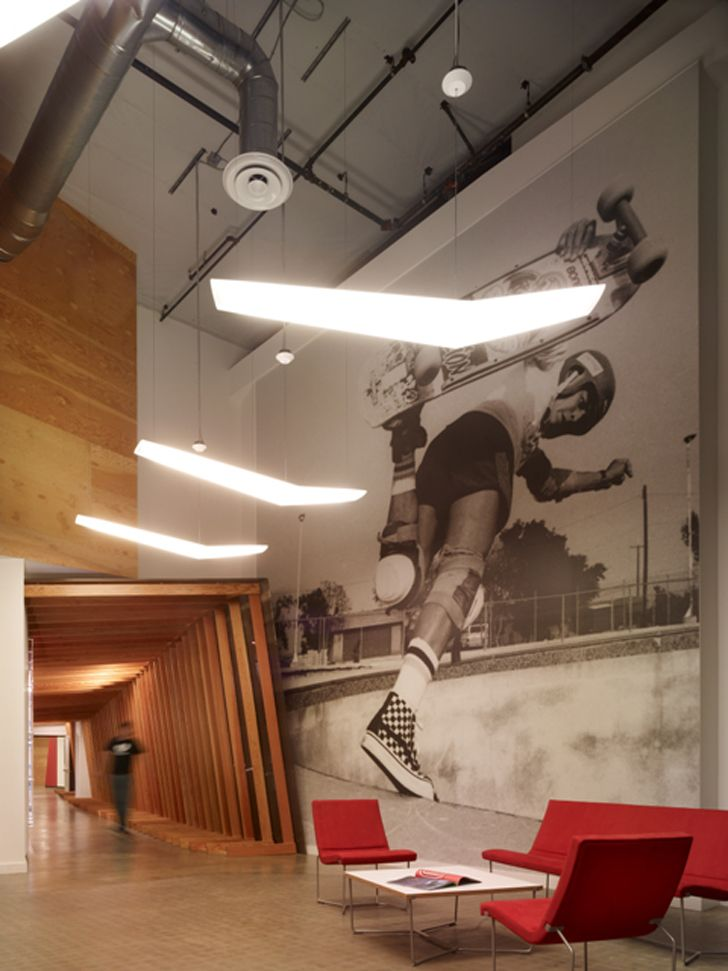 Vans World Headquarters Designed By Rapt Studio In A Vacant Electronics Warehouse In Orange