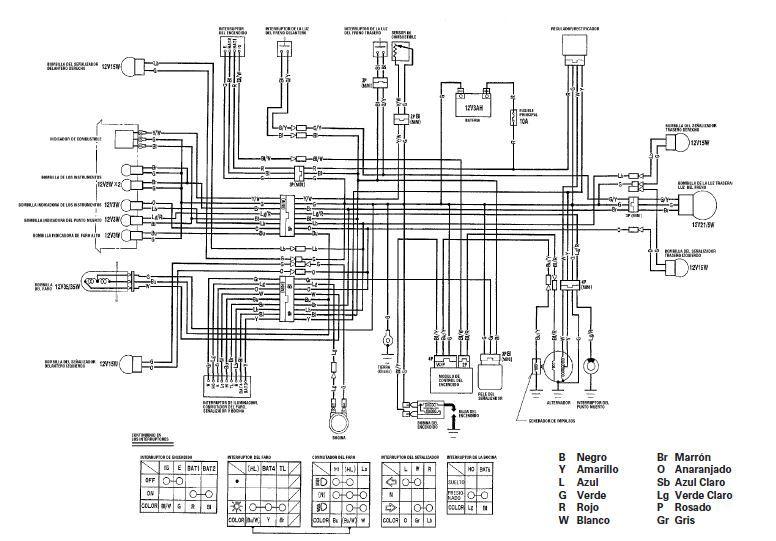 Manuales De Diagramas El Ctricos Yamaha Dt 125 Honda Cg