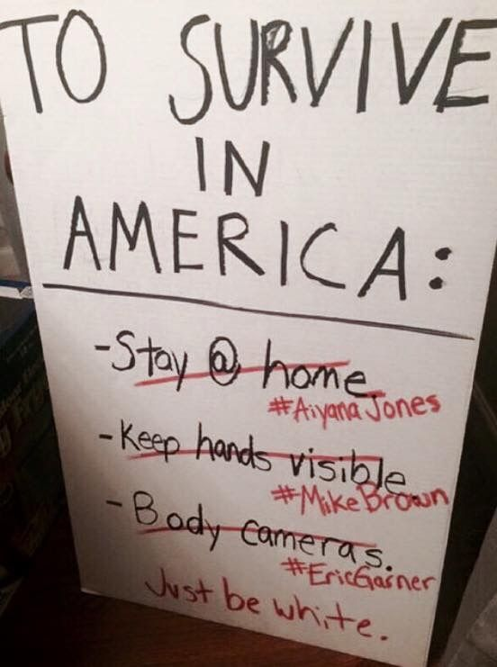 To survive in America Just be White Critically Thinking - how to research your cause for writing the petition