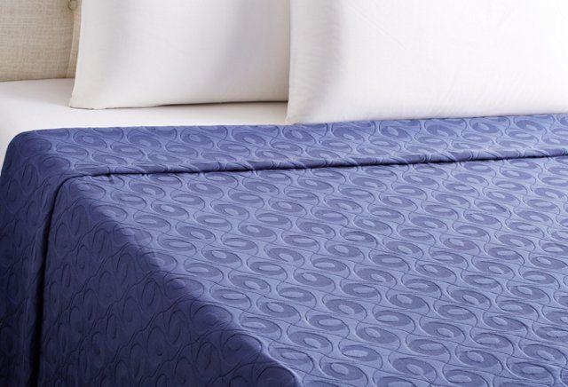 Coloniale Bouty Bedspread, Bluewash