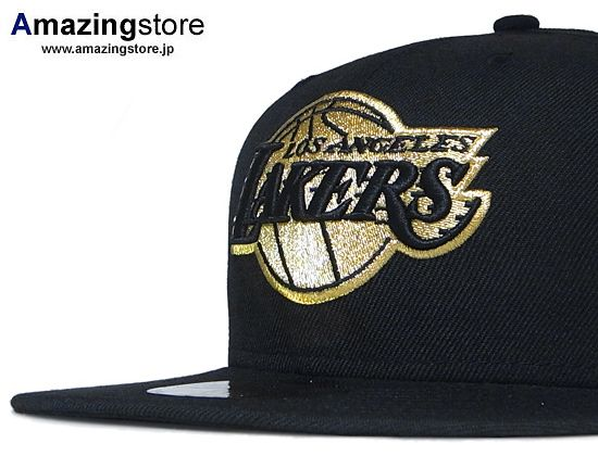 Nba X New Era Lakers Black Gold 59fifty Fitted Cap Fitted Caps Lakers Hat Lakers
