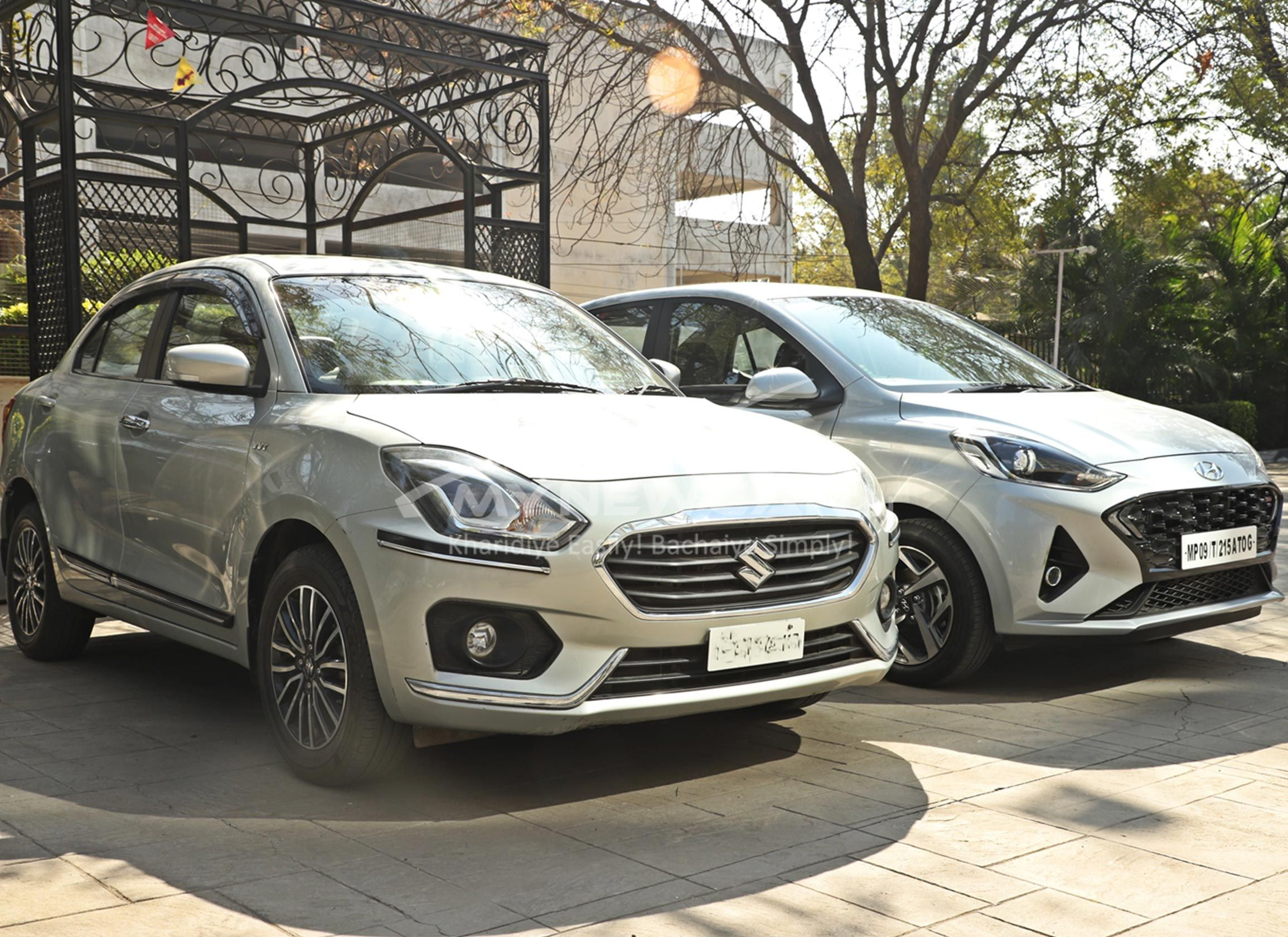 Car Comparison Maruti Dzire Vs Hyundai Aura In 2020 Hyundai Car Suzuki
