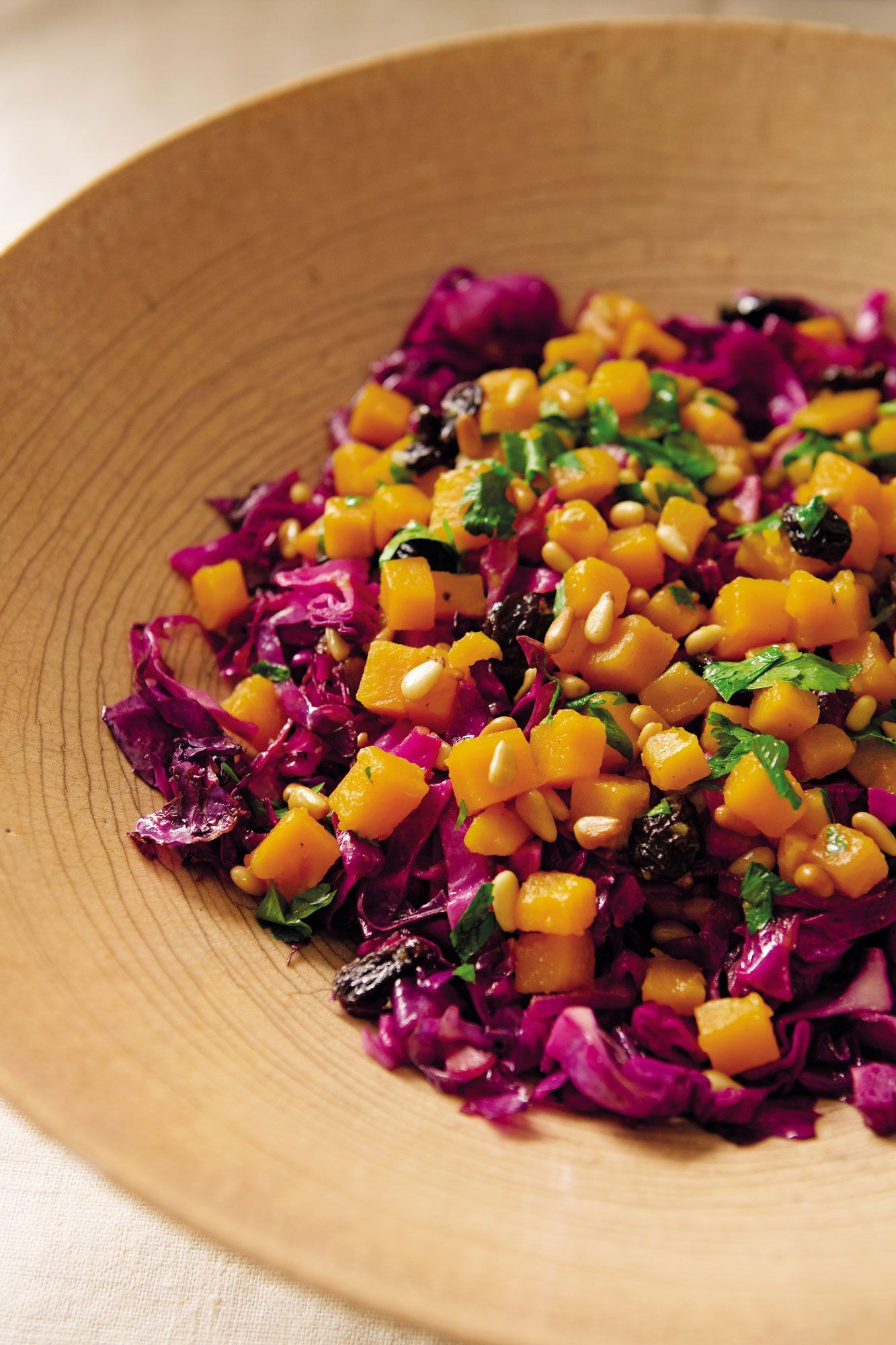 Vegetarian Thanksgiving Side Dishes From Gramercy Tavern S Michael Anthony Red Cabbage Salad Salad With Sweet Potato Red Cabbage Recipes