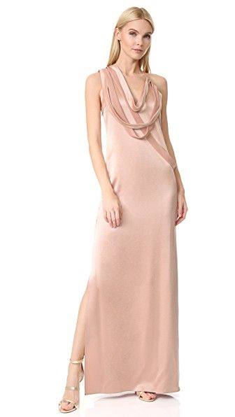 Haz Clic Para Ver Los Detalles Envíos Gratis A Toda España Halston Heritage Sleeveless Slip Gown With D Strips Note Runs True