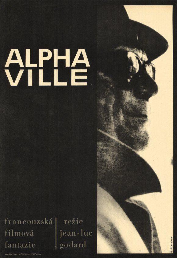 Alphaville (1965) Jean-Luc Godard-- A US secret agent is sent to - missing person posters