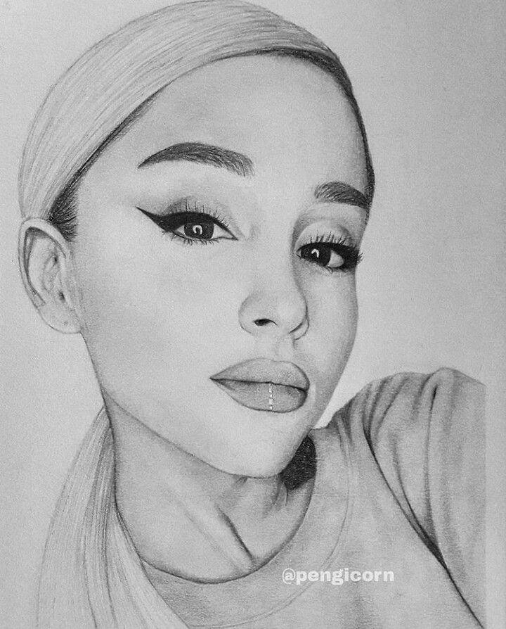 Ariana Grande Desenhos Faceis Desenhos De Rostos