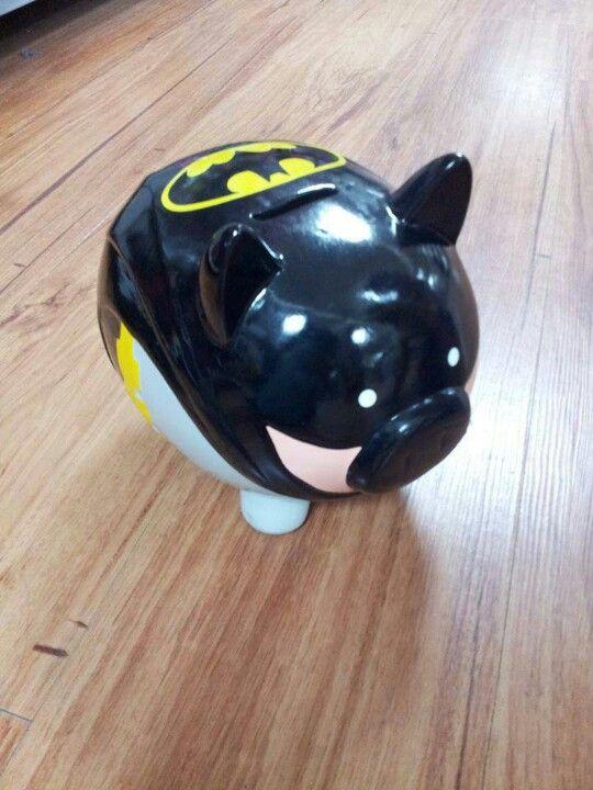 Batman Piggy Bank Home Decor Piggy Bank Pig Bank