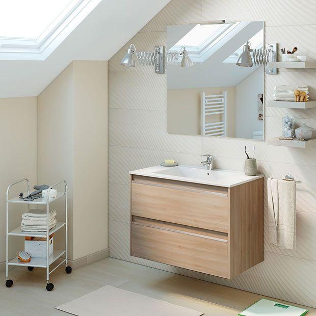 Muebles de lavabo - Leroy Merlin | BAÑOS en 2019 | Bathroom, Bath y ...
