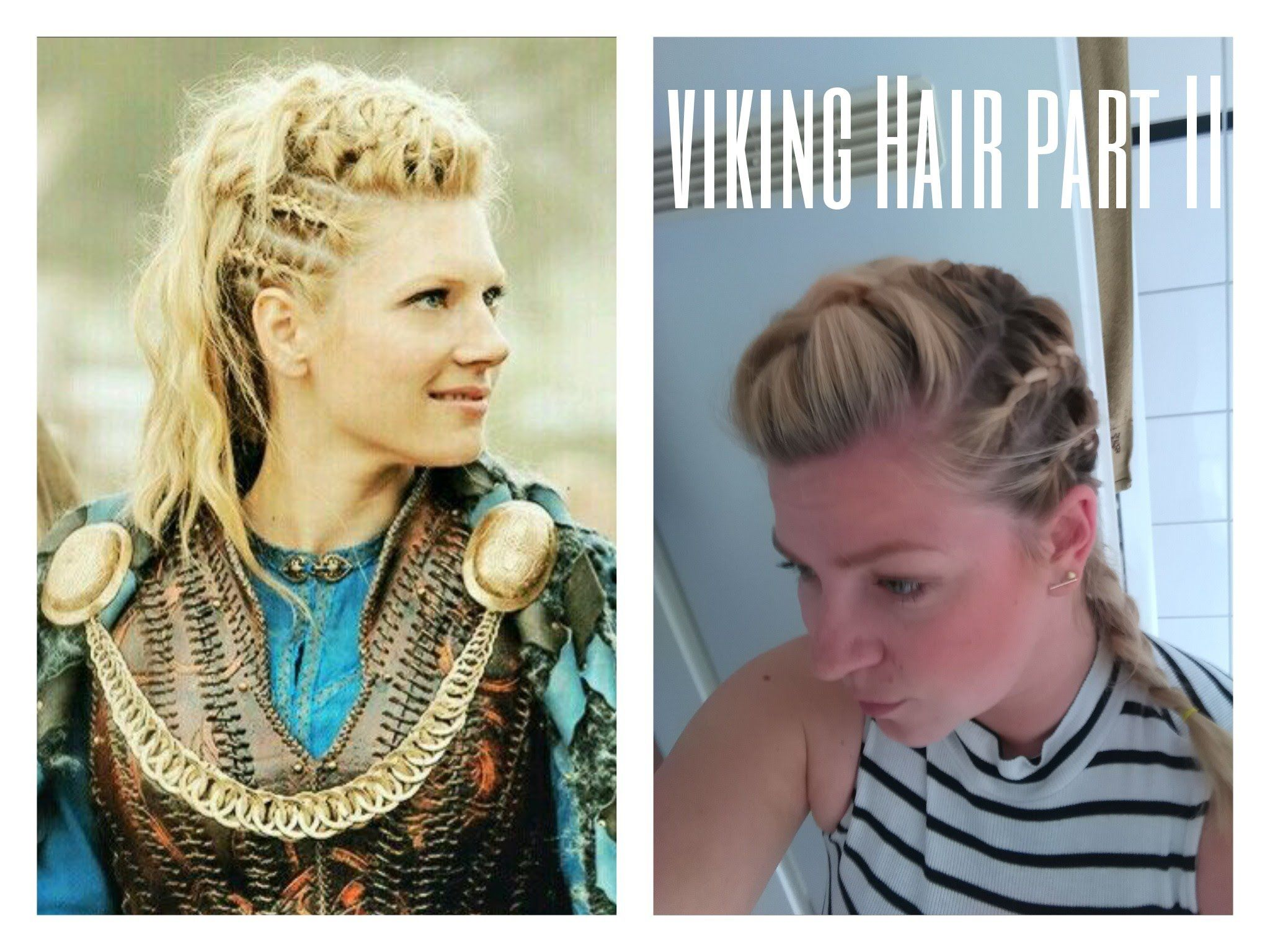 Frisuren Vikings - Frisurentrends  Viking hair, Pretty hairstyles