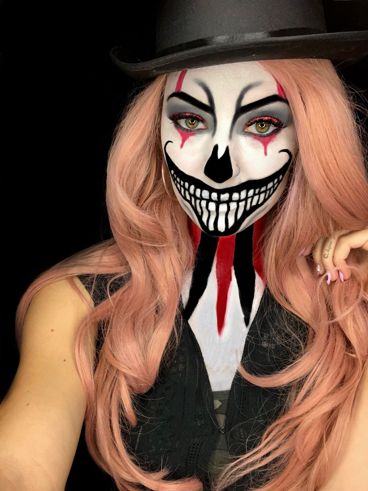Halloween Schminke Bilder.Ringmaster By Aszjeca Burden Schminken Halloween Halloween Make Up Hexe Schminkgesichter