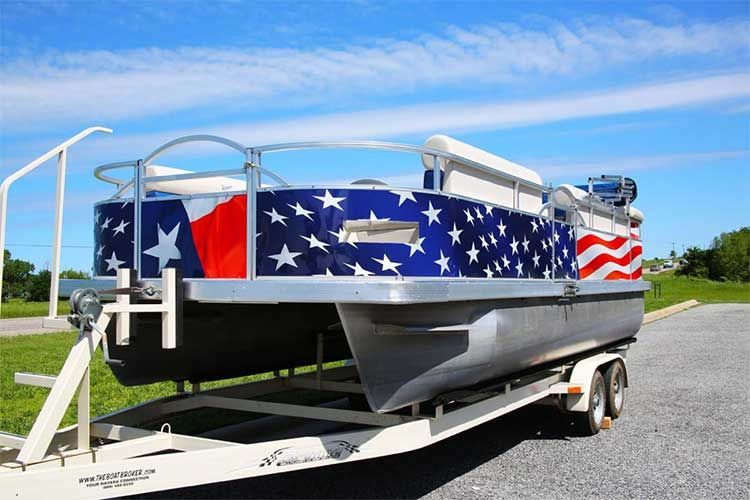 Pontoon Boat Wraps Stunning Ideas For Graphics You Have To