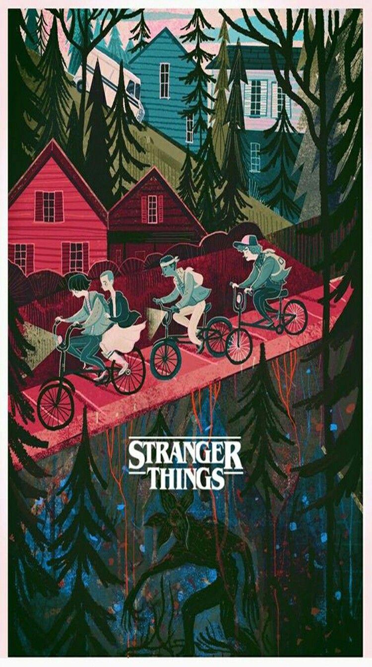 Stranger Things. Lock Screens Pinterest Stranger