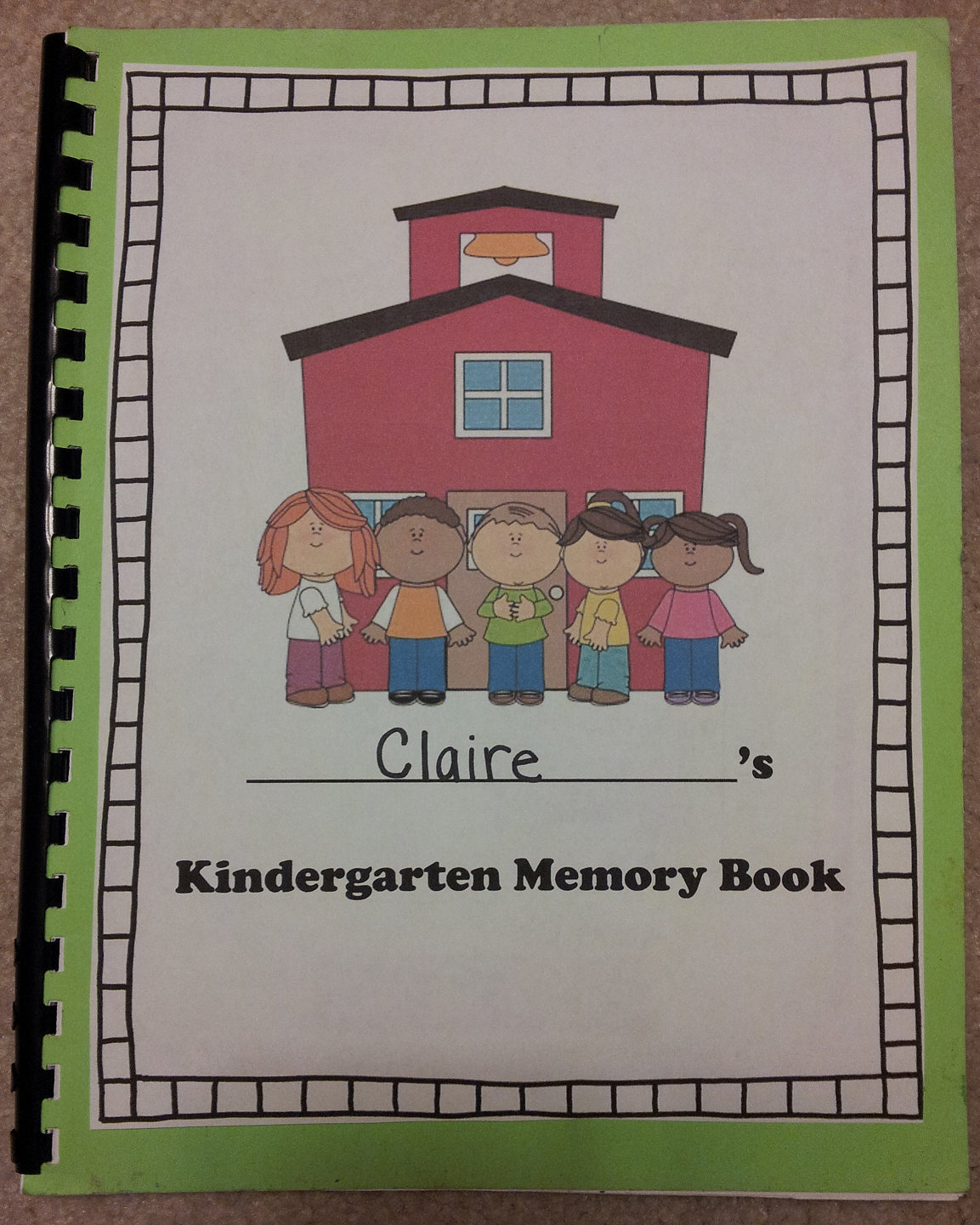 Cute End Of The Year Memory Book For Kinders This Would