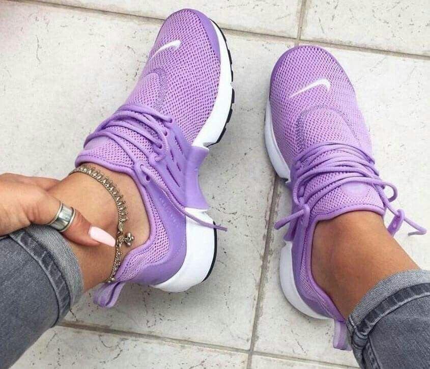 Lavender Nikes