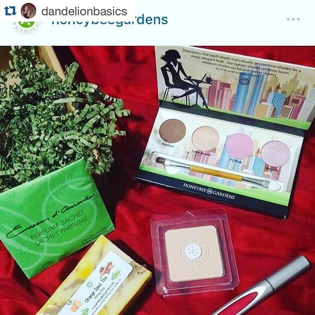 WE HAVE A WINNER!  @dandelionbasics posted a pic of her April Buzz Box with the hashtag #buzzbox and has won a FREE May Buzz Box!  We choose a winner every month so be sure to post your pic and tag us!  Such a great deal!! Get it before it's gone I just ordered mine and can't wait to try @honeybeegardens finally!  the Aprill Buzz box is a one time purchase for only $24 plus free shipping with 4 full size color customizable products including an eyeshadow palette! Can't wait to get it…
