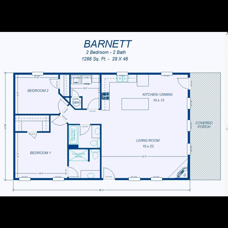 David S Ready Built Homes 2 Bedroom Floor Plans 2