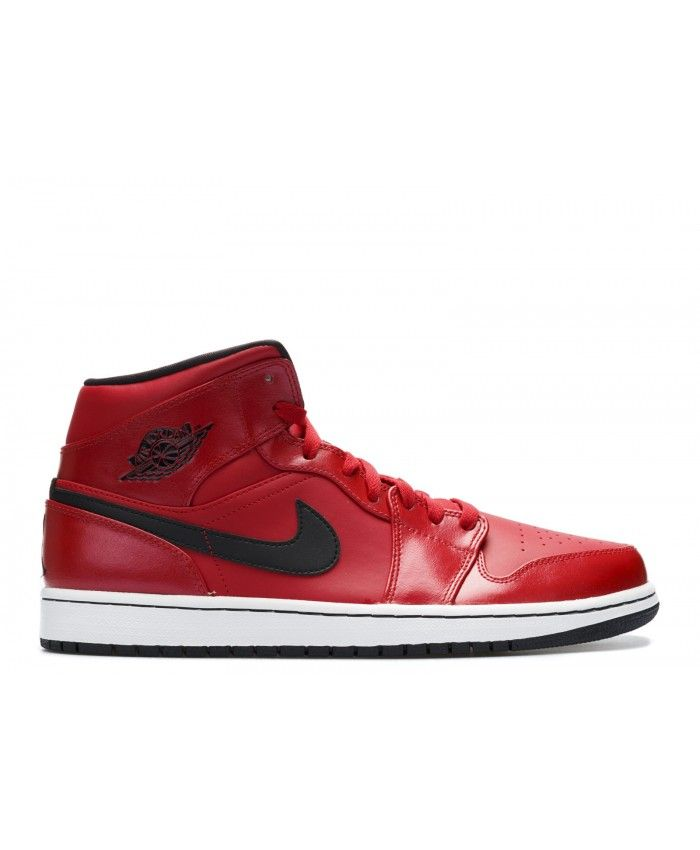 online store 88c47 53482 Air Jordan 1 Mid Gym Red Black White 554724 602