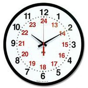 Military Time Clock >> Military Time Clock Teaching 24 Hour Clock Clock Teaching Clock