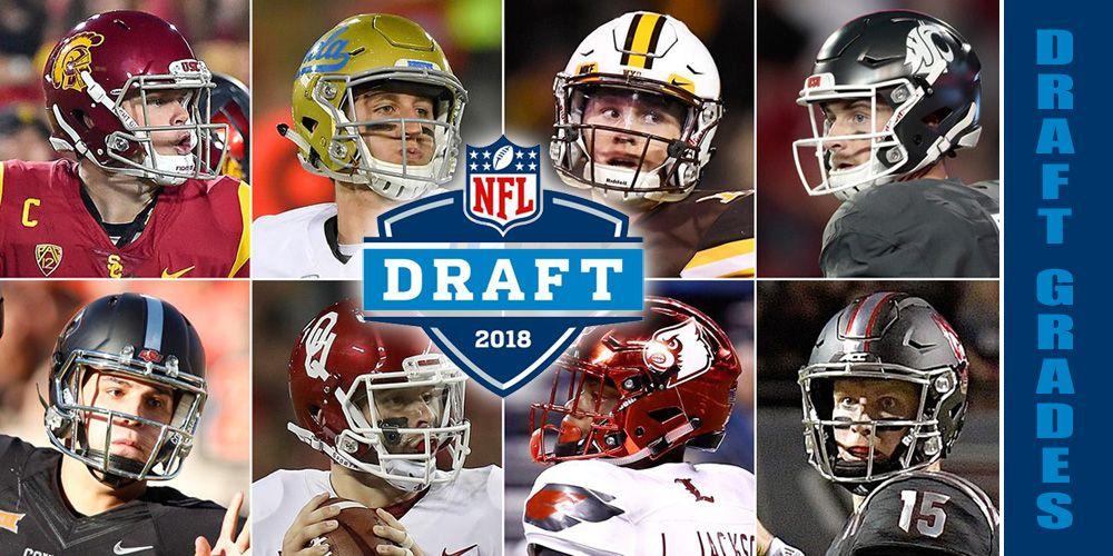 NFL Draft Grades 2018 Nfl draft, Nfl, Fantasy football
