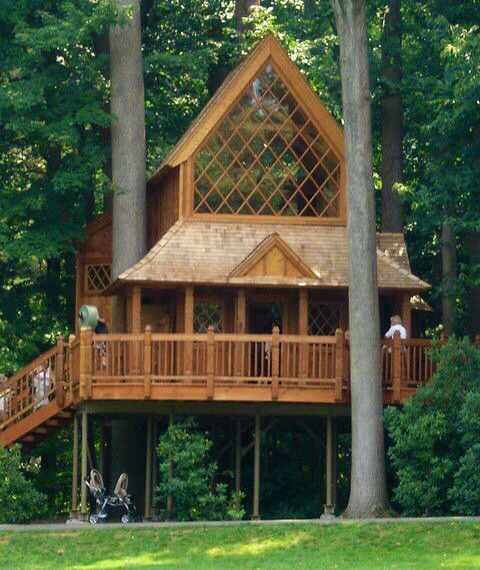 Longwood Gardens Treehouse Built By Treehouse Master Pete Nelson