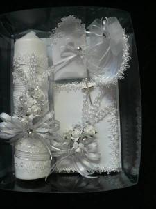 Vela para bautizo detodo pinterest velas para - Velas decoradas para bautizo ...