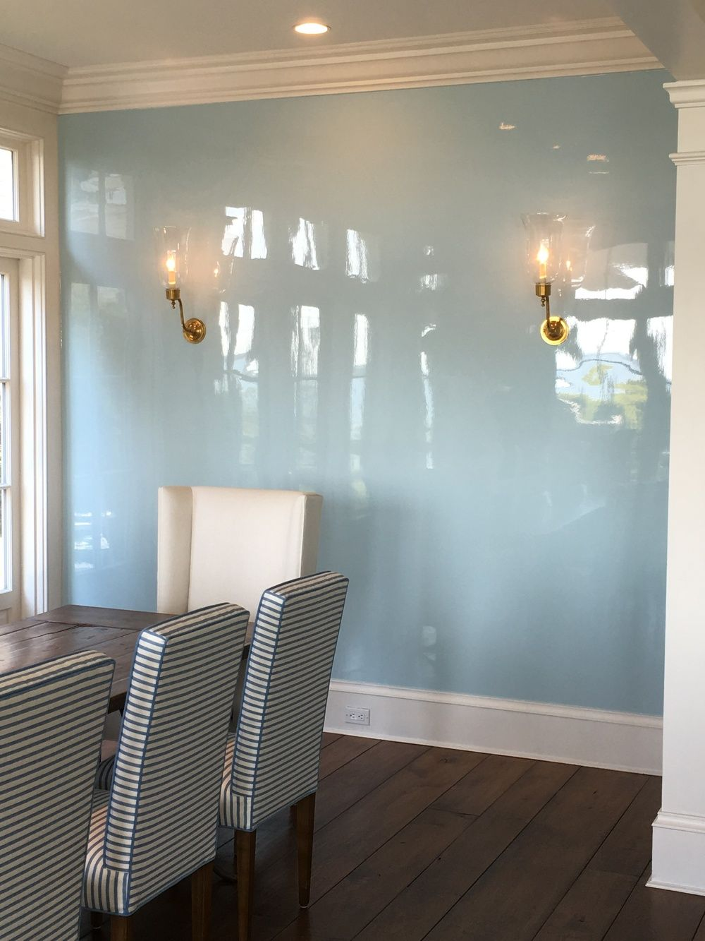 Lacquer Lacquered Walls High Gloss Dining Room Green Dining Room