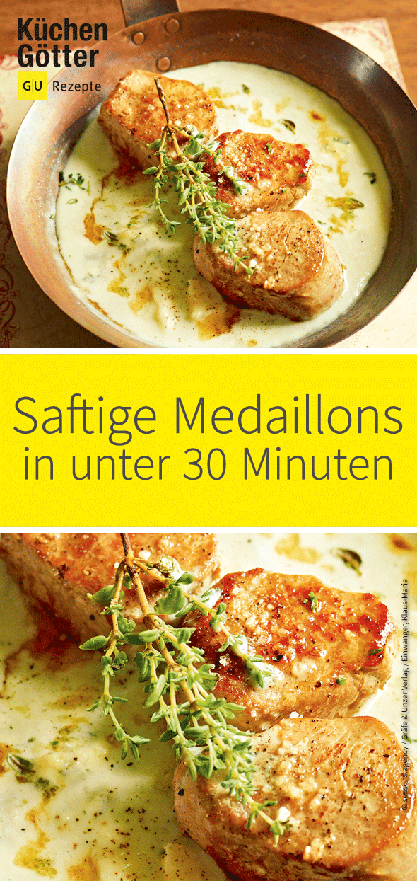 Photo of Medallions in Roquefort sauce
