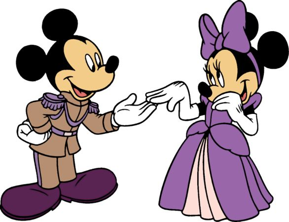 Mickey And Minnie Wedding Clip Art Mouse Pal Goofy Bike Clipart Picture Image Disney