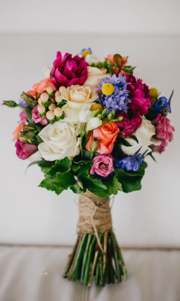how to put together a wedding bouquet