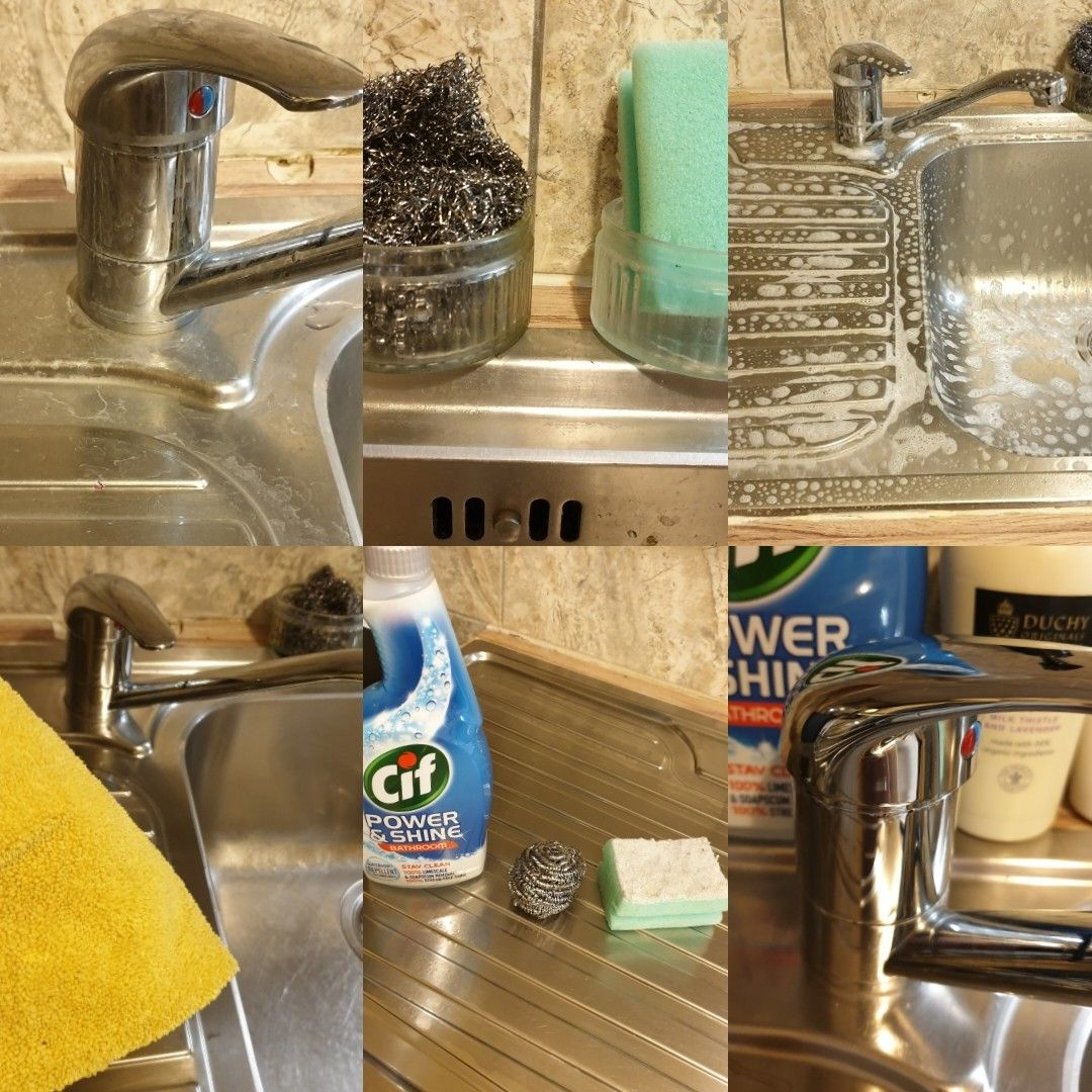 How To Remove A Hard Limescale From Kitchen Sink Quick Trick You Have To Try Kitchen Sink House Cleaning Tips Sink