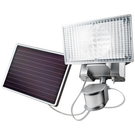 Silver Solar 100 Led Outdoor Security Flood Light Security Lights Solar Motion Lights Solar Security Light