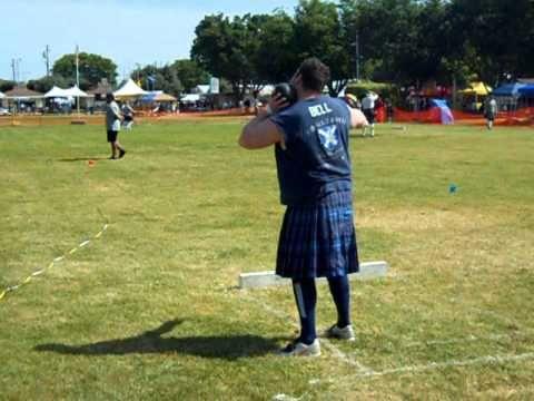 Light stone throw - Scottish Highlands Games